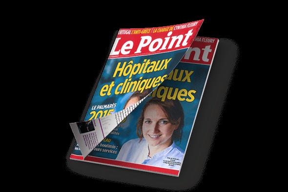 CHP Saint-Grégoire - Couverture Le Point
